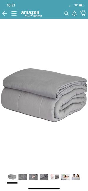 15lb weighted blanket for Sale in Washington, DC