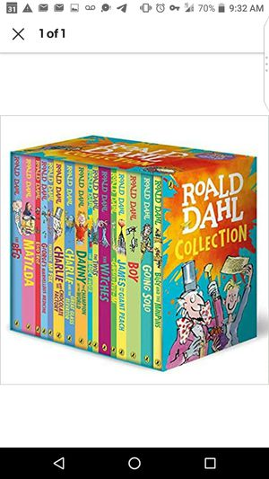 Roald Dahl 16 books set NEW sealed for Sale in Edmonds, WA
