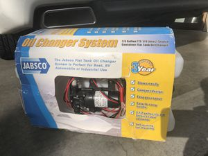 JABSCO Oil Change System NEW for Sale in Tacoma, WA