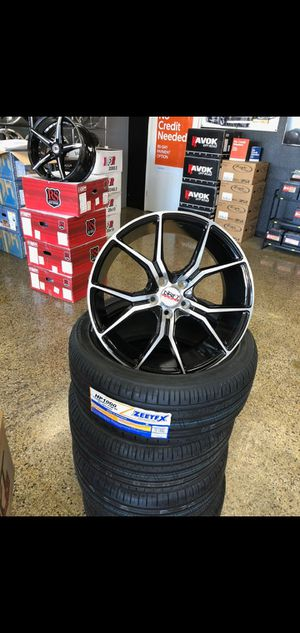 Tire and wheel packages available for Sale in Fresno, CA