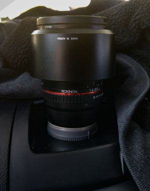 Rokinon 85mm E-mount (for Sony) for Sale in Fresno, CA