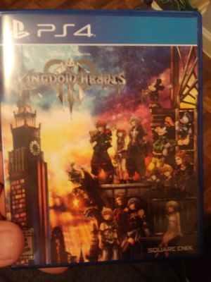 Kingdom hearts 3 ps4 for Sale in Arlington, TX