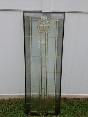 Door glass insert. Beauty for Sale in Land O Lakes, FL