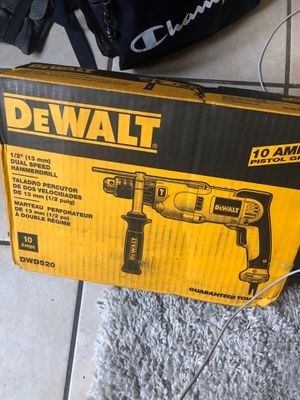 Dewalt hammer drill for Sale in Stockton, CA