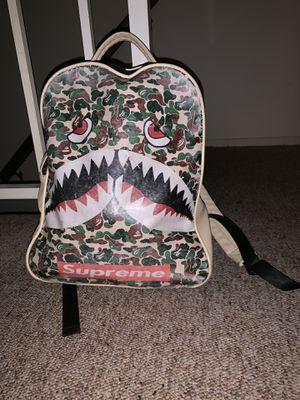 Bape x Supreme backpack for Sale in Medina, OH