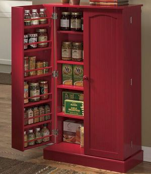 RED Double Door Pantry for Sale in Hannibal, MO