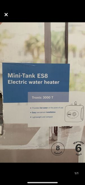 Brand new electric water heater for Sale in Nashville, TN