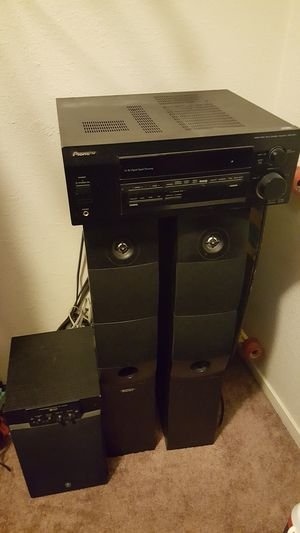 Pioneer stereo system vsx-d411 for Sale in Fresno, CA