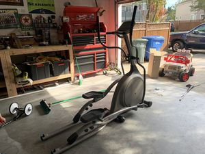 Like new elliptical by vision fitness for Sale in Puyallup, WA
