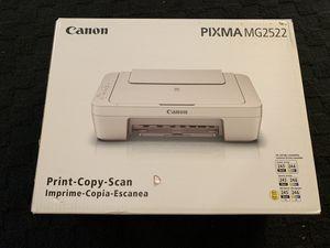 New canon pixma mg2522 printer does sale for Sale in Dallas, TX