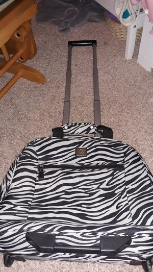 Zebra rolling computer bag for Sale in Carlsbad, CA
