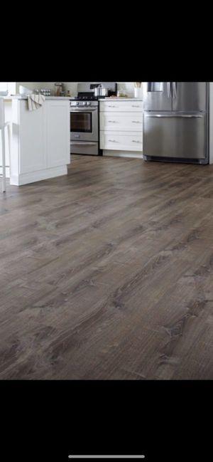 Life proof burnt Oak luxury vinyl plank flooring (please read) for Sale in Phoenix, AZ