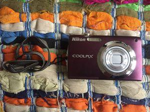 Nikon COOLPIX S3000 digital camera for Sale in Seattle, WA