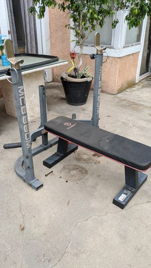 Squat/Bench rack with bench for Sale in Highland, CA