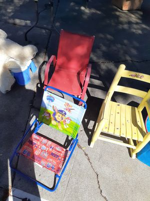 Kids chairs ask for the prices for Sale in Richmond, CA