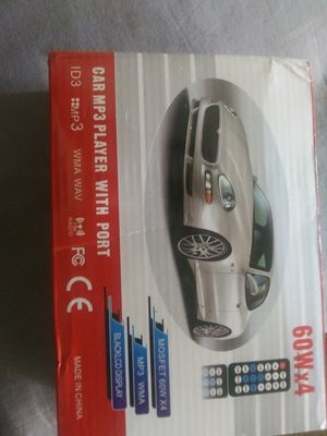 Car radio mp3 with remote for Sale in Hubert, NC