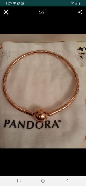 New rosegold pandora charm bracelet for Sale in Philadelphia, PA