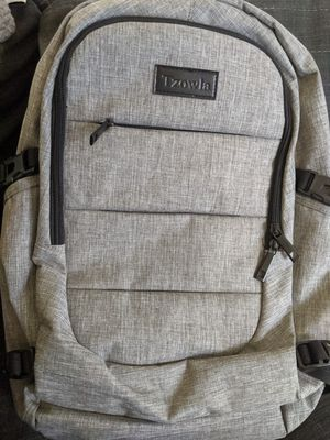 Travel backpack with locking zipper and side ports for Sale in Oakland, CA
