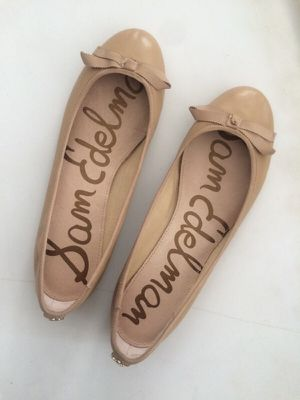 Sam Edelman nude leather ballet flats for Sale in San Diego, CA