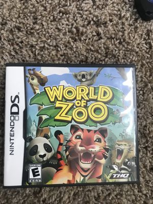 World of zoo for Nintendo DS for Sale in Snohomish, WA