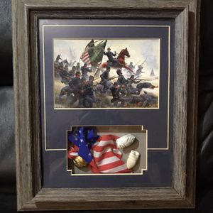 Raise The Colors And Follow Me Framed Art for Sale in Ontario, CA