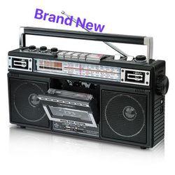 Audiobox Portable Bluetooth Radio Cassette Player Recorder Reproductor de Casetes Grabadora RXC-10BT for Sale in Miami,  FL