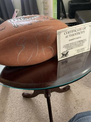 Emmitt smith signed football! for Sale in West Columbia, SC