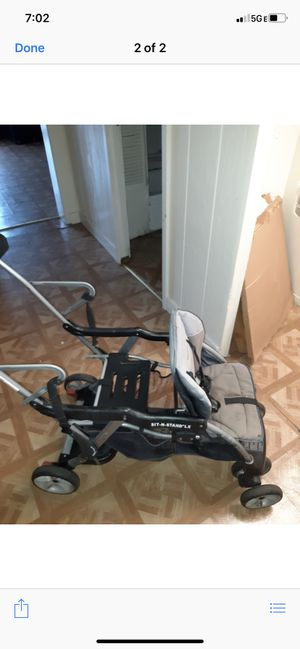 Sit and stand stroller for Sale in Pittsburgh, PA