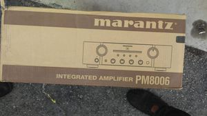 Marantz pm8006 stereo integrated amplifier receiver for Sale in Las Vegas, NV