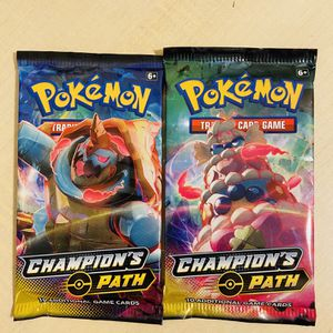 Pokemon Cards: Champion's Path Booster Packs for Sale in Irvine, CA