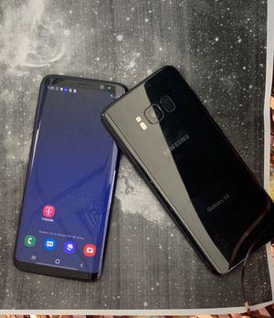 Samsung galaxy s8 64gb unlocked each phone for Sale in Malden, MA