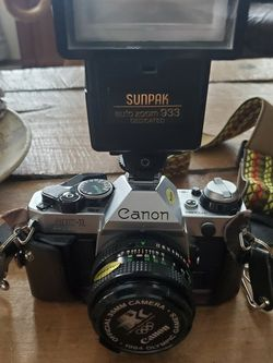 Canon Ae1 35mm Camera And Accessories for Sale in Colorado Springs,  CO