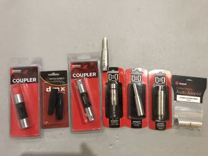 Lot of XLR Speaker and DMX Adapter, Coupler, etc. for Sale in Robbinsville Township, NJ