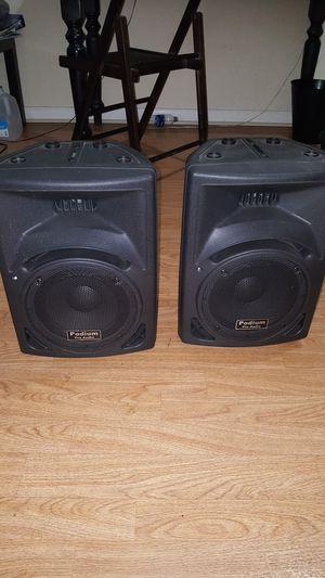 Podium pro Audio PP810 Speakers for Sale in Apollo Beach, FL