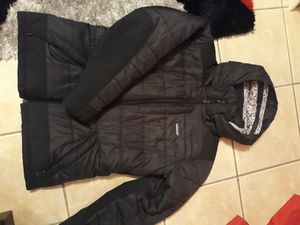 Women's Patagonia black coat jacket size M like new for Sale in Hickory Hills, IL