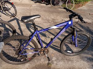 """Specialized Hardrock Sport bike with disc brakes, 26"""" tires, large frame, with brand new shifters, cables, brake levers and bottom bracket - $150 FIRM for Sale in Wesley Chapel, FL"""