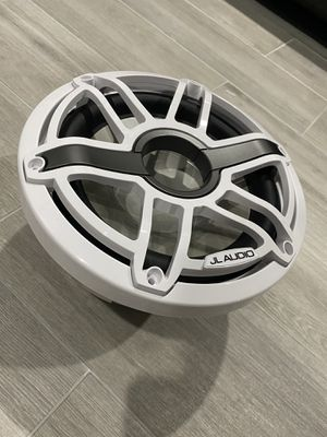 "JL Audio M6 10"" Subwoofer - White Sport Grill for Sale in Miami, FL"