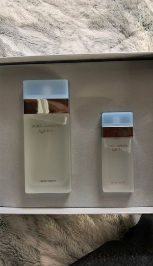Dolce gabbana light blue gift set for Sale in Los Angeles, CA