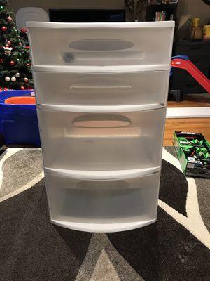 Sterilite plastic drawer bin for Sale in San Jose, CA