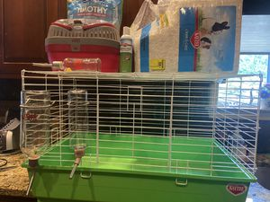 Guinea Pig/Dwarf Rabbit Cage & Supplies for Sale in York, PA