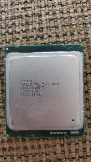 Intel core i7 3820 LGA 2011 for Sale in Springfield, VA
