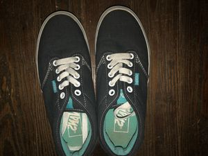 Women's Black/Turquoise Vans for Sale in High Point, NC