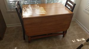 Real wood kitchen table for Sale in Durham, NC