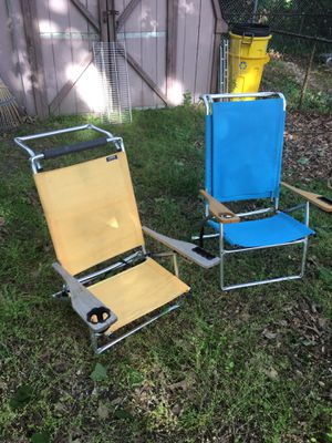 Beach chairs only 20 each firm for Sale in Glen Burnie, MD