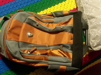 """CalPak 18"""" Rolling Travel Luggage Backpack Wheels Single Handle Carry On New Nice for Sale in Long Beach,  CA"""