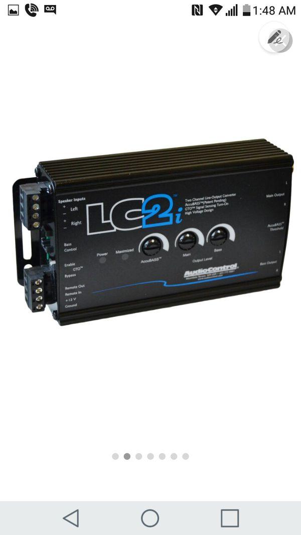 LC2 AUDIO CONTROL