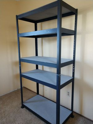 Steel frame shelving unit for Sale in Citrus Heights, CA