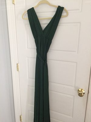Green infinity bridesmaid dress for Sale in Mount Crawford, VA
