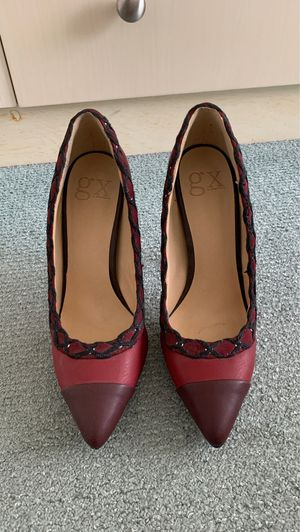Burgundy heels for Sale in The Bronx, NY