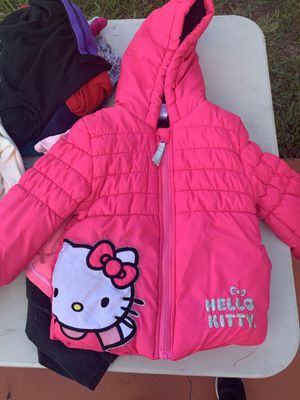 Hello Kitty Toddler 3T Winter Jacket for Sale in Hialeah, FL